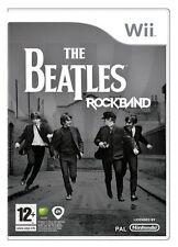 Nintendo Wii : Rock Band Beatles-Nla VideoGames