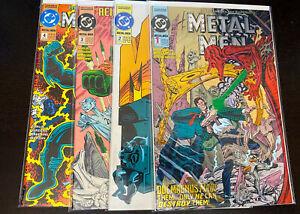 METAL MEN (1993 DC Comics) -- #1 2 3 4 -- FULL Series / Set