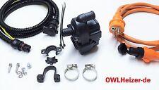 Motorvorwärmer OWL-2S +Anschluß-Set+UNIVERSELL+Standheizung Kühlwasserheizung