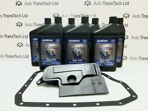 Genuine U660E Service Kit Filter Gasket and Oil 7L T-IV
