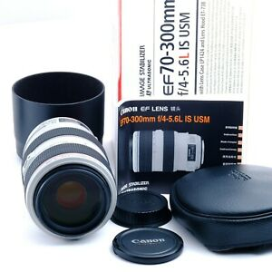 """""""Mint in Box"""" Canon Zoom Lens EF 70-300mm f4-5.6 L IS USM Japan 7820001503"""