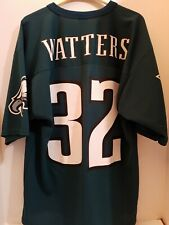 Vintage Philadelphia Eagles Ricky Watters #32 Logo 7 Nfl Jersey Adult Medium