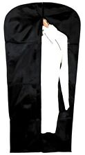 "54"" Heavy Duty Suit Cover Waterproof Travel Zipped Nylon Garment Carrier Bag"
