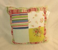 "Domestications Mikayla Toss Pillow 14x14"" Reversible Multi-color 3513KCZ 11424C"