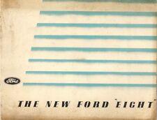 Ford Eight 8 1938 UK Market Sales Brochure Saloon De Luxe