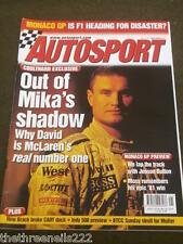 AUTOSPORT - HOW BRACK BROKE CART DUCK - MAY 24 2001