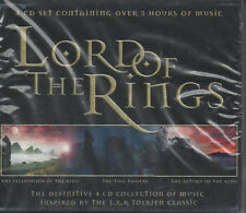Lord Of The Rings 4CD Collection Of Music Insp.by Tolkien Classic Herr der Ringe