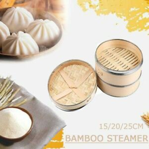 Lid Cookware Buns Making Cooking Cover Basket Cage Kitchen Tool Bamboo Steamer