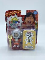 """NEW Ryan's World 3"""" Action FIGURE 2-Pack Pacific Rym Ryan & MYSTERY Toy Series 3"""