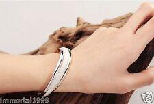 Bracelet Jonc Femmes Plaqué Argent 925 ( estampillé)