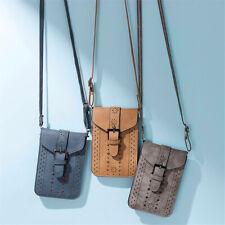 Women Leather Handbag Shoulder Cross Body Phone Bag Tote Messenger Satchel Purse