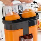 DOUBLE PRESSE-AGRUMES ÉLECTRIQUE DELUXE JUICER ORANGE CITRON 90W