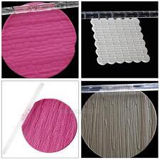 Rodillo de Acrílico con Textura Relieve Artesanía Sugarcraft para Fondant Pastel Decoración