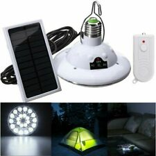 22LED Solar Lamp Hooking Camping Garden Path Light Remote Control Outdoor&Indoor