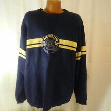 Iverson '75 Limited Edition Black and Gold Wool Blend Sweater XL