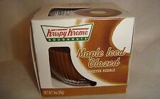 KRISPY KREME***MAPLE ICED GLAZED***SCENTED CANDLE~3 oz/85 g~~NEW~~BOXED~~SEALED