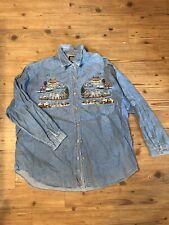 Noah's Ark Denim 100% Cotton Long Sleeve Women's Shirt