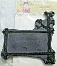 Stempel Rubber Stamp von Magnolia Rahmen mit Blumen EZ-Mounted RAR TOP