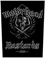 Motorhead B**tards giant backpatch sew-on cloth patch   360mm x 300mm  (ro)
