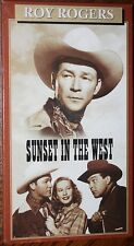 SUNSET IN THE WEST (vhs) Roy Rogers, Estelita Rodriguez. Brand NEW. Rare Western