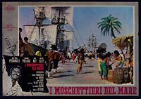 T108 Fotobusta I Musketiere Der Meer 1962 Selten Anna Maria Pierangeli, Aldo