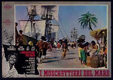 T108 FOTOBUSTA I MOSCHETTIERI DEL MARE 1962 RARA!! ANNA MARIA PIERANGELI, ALDO