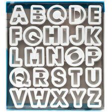 """Ateco Alphabet Cutter Set, 1.5"""""""