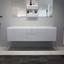 1800mm Bathroom Vanity Cabinet Only Wall Hung White