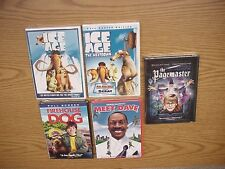 NEW KIDS DVD SELECTION - ICE AGE, PAGEMASTER, MEET DAVE, FIREHOUSE DOG