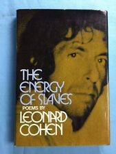 THE ENERGY OF SLAVES - FIRST EDITION REVIEW COPY BY LEONARD COHEN