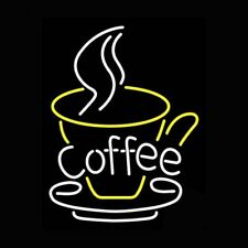 "New Coffee Shop Open Espresso Bar Neon Light Sign 17""x14"""