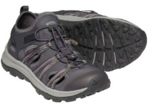 New! Women's Keen Terradora II ATS All Terrain Hiking Sandal -Grey/Pink SZ 10