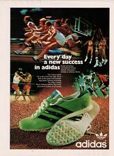 "Vintage 1972 Adidas 'Every Day A New Success In Adidas"" Print Advertisement"