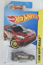 Hotwheels Ford Fiesta 1/64 scale diecast model Off Road Showdown