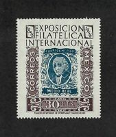Mexico - 1956 1v. MNH Hidalgo International Philatelic Exposition Stamp on Stamp