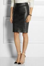 Joseph Jezzy  leather stretch pencil skirt Size 40  UK 12-14 RRP £695