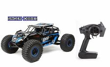 LOSI 1/10 Rock Rey 4WD RTR Radio Control Truck with AVC Blue LOS03009T2 HH