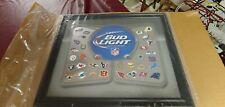 Bud Light Nfl Football Beer Bar Pub Man Cave Mirror 2013 Nib