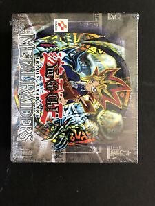 Yu-Gi-Oh  Factory Sealed Metal Raiders Unlimited Booster Box