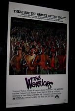 Original THE WARRIORS 27x41 ROLLED 1 SHEET Michael Beck James Remar Walter Hill