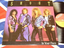 Shout-in your face LP AOR 1989 NPF 92
