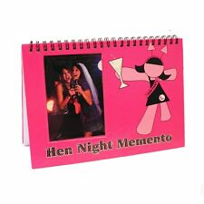 HEN PARTY NIGHT BRIDE TO BE GIFT MEMENTO COMMENTS PHOTOS MEMORY SCRAPBOOK BOOK