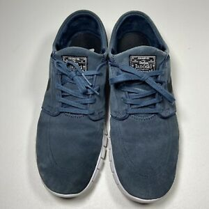 Nike SB Air Stefan Janoski Suede Blue Men's Size 12 685299-402