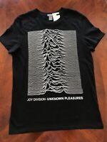 H&M JOY DIVISION UNKNOWN PLEASURES  T-Shirts NEW Sizes S, M, L, XL