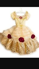 New Collectible Belle Beauty And The Beast Costume Dress!! Size 8