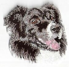 "2.25"" Border Collie Canine Dog Breed Embroidery Applique Patch"