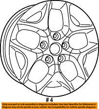 CHRYSLER OEM 17-18 Pacifica-Wheel-Alloy Aluminum 5RJ43XZAAB