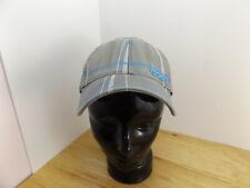 ADIDAS  A Flex Adult L/XL Grey Blue White Plaid Baseball Cap Hat