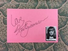 Kristy Swanson - Buffy the Vampire Slayer - Autographed in 1986