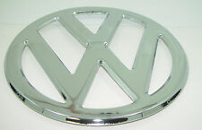 "EMBLEM CHROME FRONT 317mm 12.48"" ""VW"" FITS VOLKSWAGEN TYPE2 BUS 1950-1967"